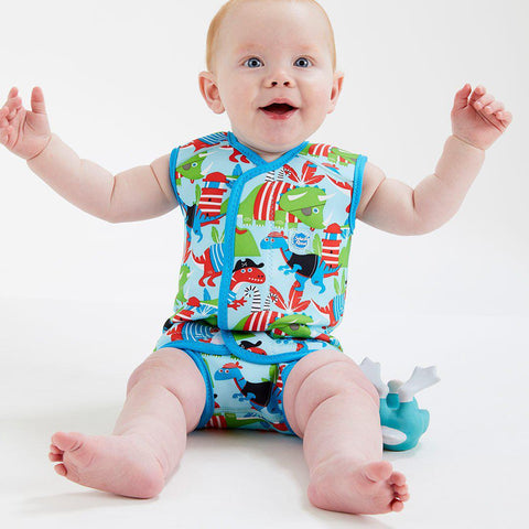 Splash About BabyWrap - Dino Pirates-Swimwear- Natural Baby Shower