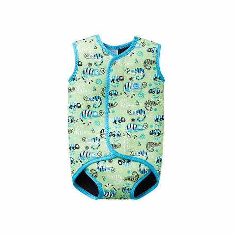Splash About BabyWrap - Green Gecko-Swimwear- Natural Baby Shower