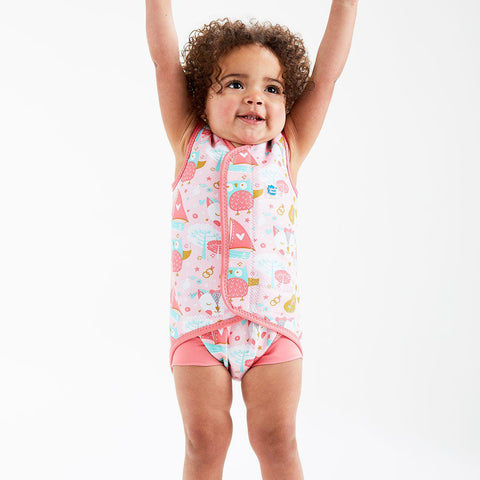 Splash About BabyWrap - Owl and the Pussycat-Swimwear- Natural Baby Shower