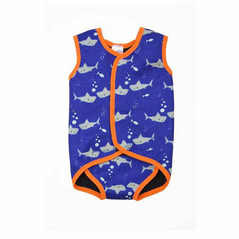 Splash About BabyWrap - Shark Orange-Swimwear- Natural Baby Shower