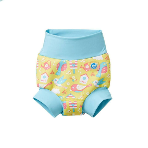 Splash About Happy Nappy - Garden Birds-Swim Nappies- Natural Baby Shower