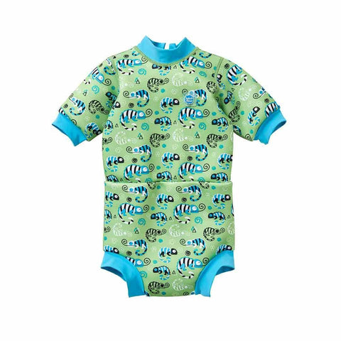Splash About Happy Nappy Wetsuit - Green Gecko
