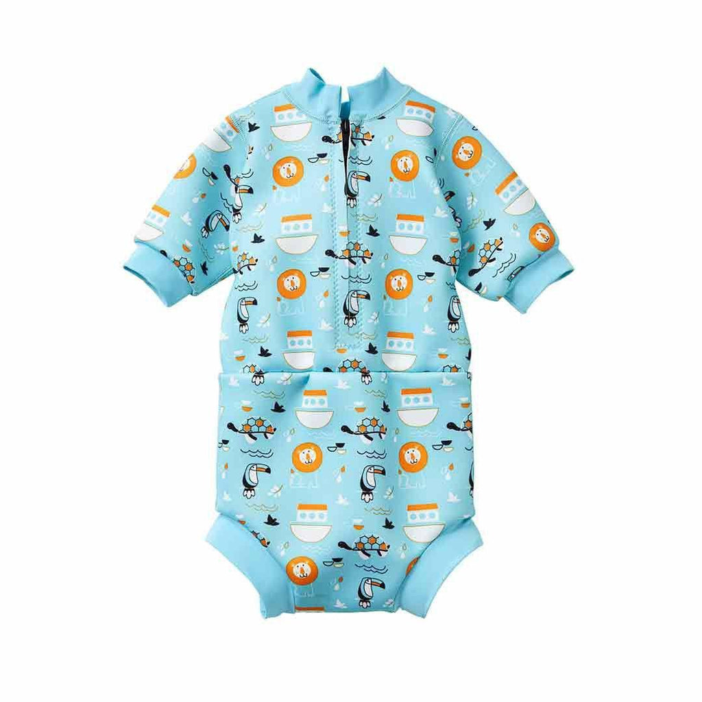 Splash About Happy Nappy Wetsuit - Noah's Ark-Swim Nappies- Natural Baby Shower