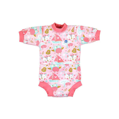 Splash About Happy Nappy Wetsuit - Owl and the Pussycat-Swimwear- Natural Baby Shower