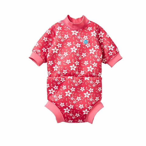 Splash About Happy Nappy Wetsuit - Pink Blossom
