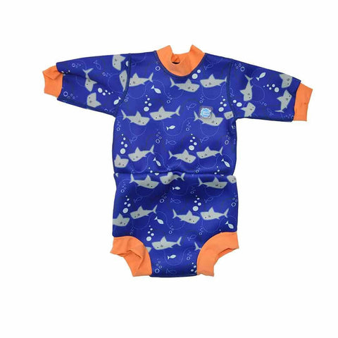 Splash About Happy Nappy Wetsuit - Shark Orange