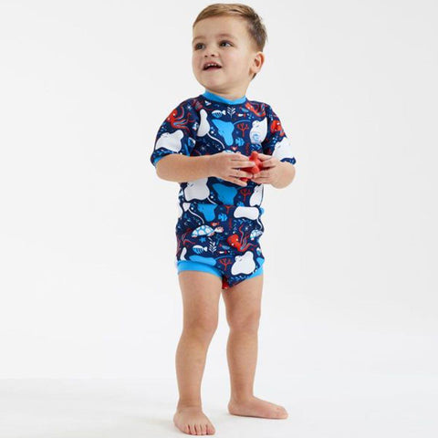 Splash About Happy Nappy Wetsuit - Under the Sea-Swimwear- Natural Baby Shower