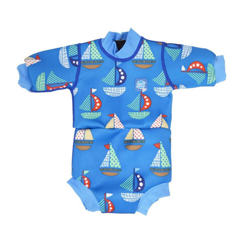 Splash About Happy Nappy Wetsuit in Set Sail