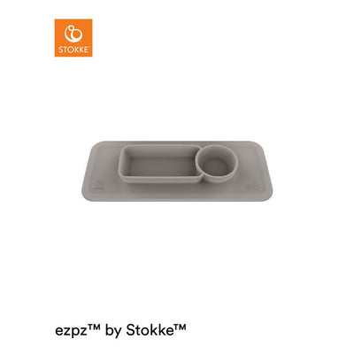 Stokke Clikk Placemat - Soft Grey-Placemats- Natural Baby Shower
