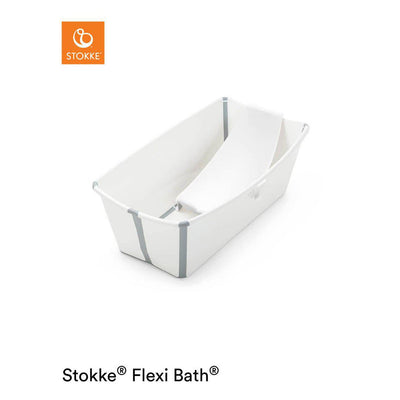 Stokke Flexi Bath Bundle - White-Travel Baths & Pools- Natural Baby Shower
