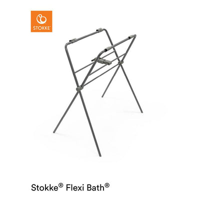 Stokke Flexi Bath Stand - Grey-Travel Baths & Pools- Natural Baby Shower