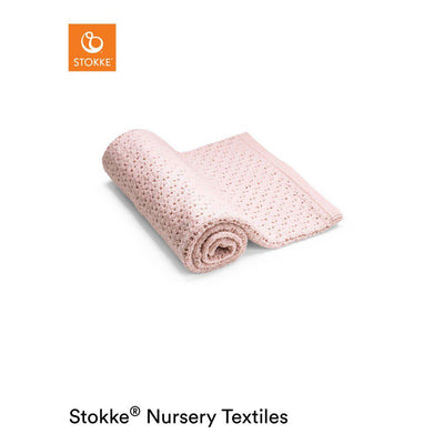 Stokke Merino Wool Blanket - Pink-Blankets- Natural Baby Shower