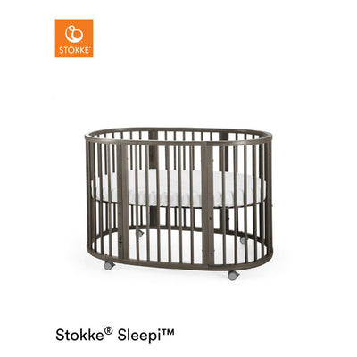 Stokke Sleepi Bed - Hazy Grey-Cot Beds- Natural Baby Shower
