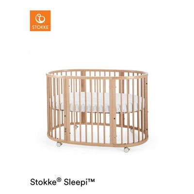 Stokke Sleepi Bed - Natural-Cot Beds- Natural Baby Shower