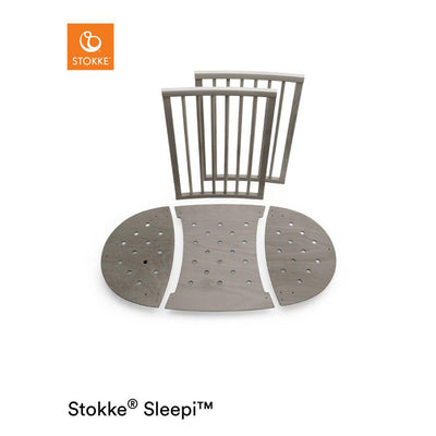 Stokke Sleepi Bed Extension - Hazy Grey-Extension Kits- Natural Baby Shower