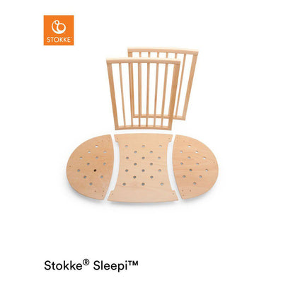 Stokke Sleepi Bed Extension - Natural-Extension Kits- Natural Baby Shower