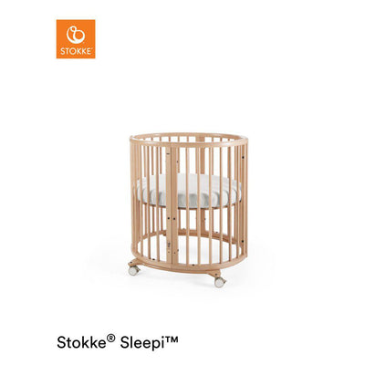 Stokke Sleepi Mini Crib - Natural-Cribs- Natural Baby Shower