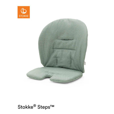 Stokke Steps Chair Baby Set Cushion - Timeless Green-Highchair Cushions & Pads- Natural Baby Shower