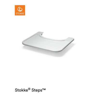 Stokke Steps Chair Baby Set Tray - Grey-Highchair trays- Natural Baby Shower