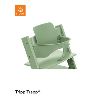 Stokke Tripp Trapp Baby Set - Moss Green-Highchair Harnesses- Natural Baby Shower