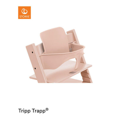 Stokke Tripp Trapp Baby Set - Serene Pink-Highchair Harnesses- Natural Baby Shower