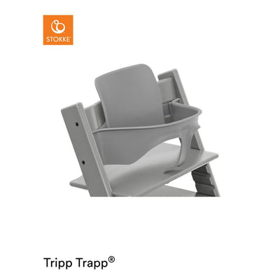 Stokke Tripp Trapp Baby Set - Storm Grey-Highchair Harnesses- Natural Baby Shower