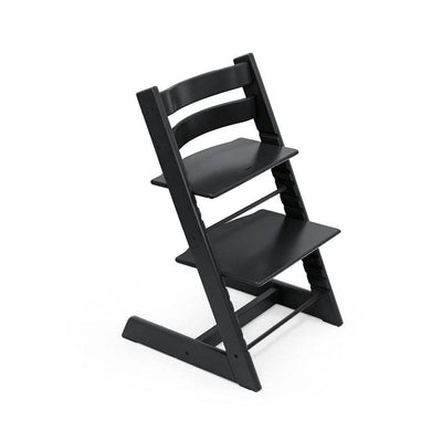 Stokke Tripp Trapp Highchair - Black-Highchairs- Natural Baby Shower
