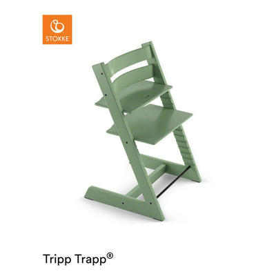 Stokke Tripp Trapp Highchair - Moss Green-Highchairs- Natural Baby Shower