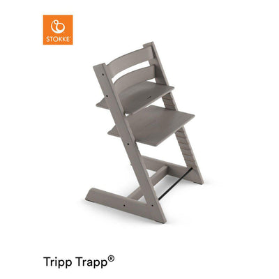 Stokke Tripp Trapp Highchair - Oak Greywash-Highchairs- Natural Baby Shower