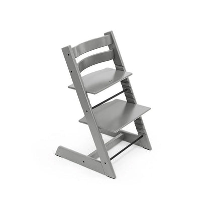 Stokke Tripp Trapp Highchair - Storm Grey-Highchairs- Natural Baby Shower