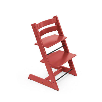 Stokke Tripp Trapp Highchair - Warm Red-Highchairs- Natural Baby Shower