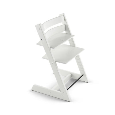 Stokke Tripp Trapp Highchair - White-Highchairs- Natural Baby Shower