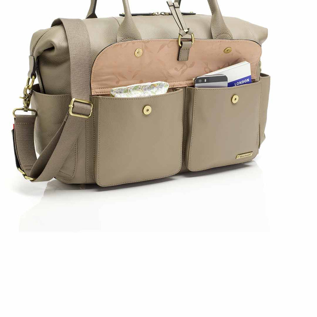 Storksak Changing Bag - Charlotte - Clay-Changing Bags- Natural Baby Shower