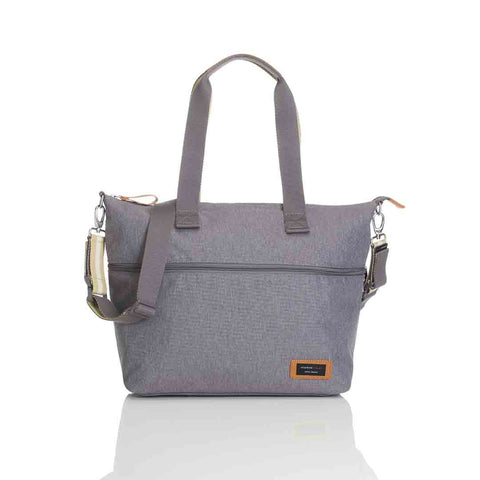 Storksak Changing Bag - Expandable Tote - Grey