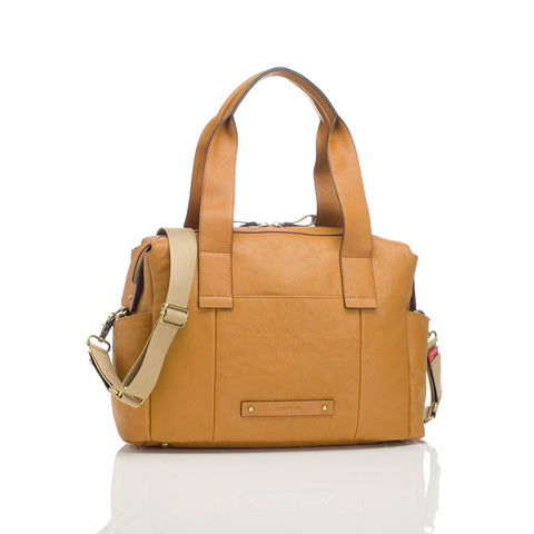 Storksak Changing Bag - Kym - Tan-Changing Bags- Natural Baby Shower