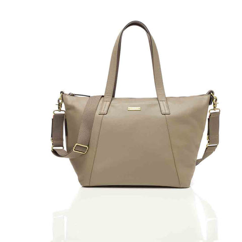 Storksak Changing Bag - Noa Leather - Clay