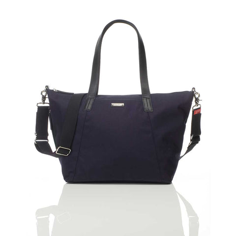 Storksak Changing Bag - Noa Luxe - Midnight Blue-Changing Bags- Natural Baby Shower