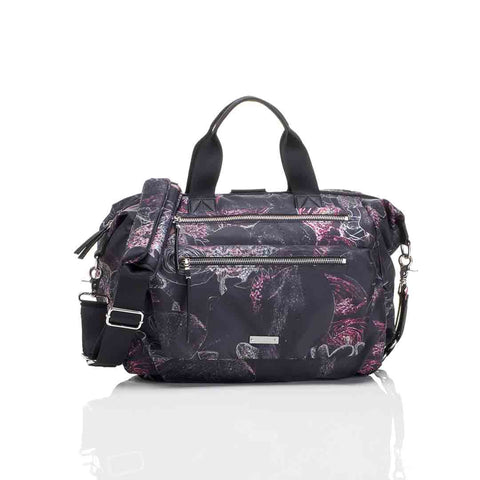 Storksak Changing Bag - Seren - Neon Floral-Changing Bags- Natural Baby Shower