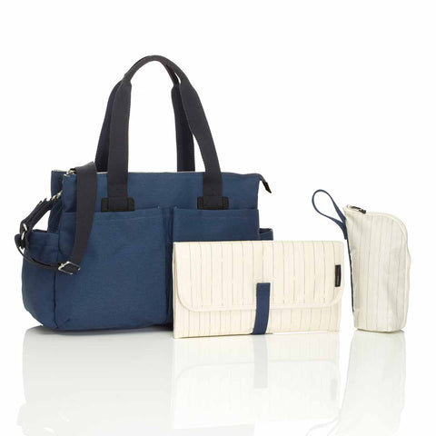 Storksak Changing Bag - Shoulder Bag Navy