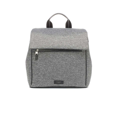 Storksak Changing Bag - St James Backpack - Scuba Grey Marl-Changing Bags- Natural Baby Shower