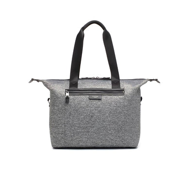 Storksak Changing Bag - Stevie Luxe - Scuba Grey Marl-Changing Bags- Natural Baby Shower
