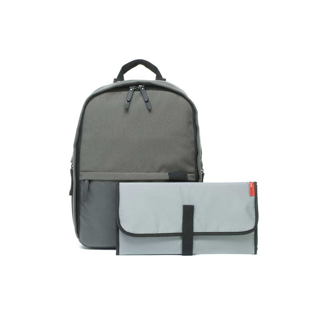 Storksak Taylor Changing Bag - Charcoal-Changing Bags- Natural Baby Shower