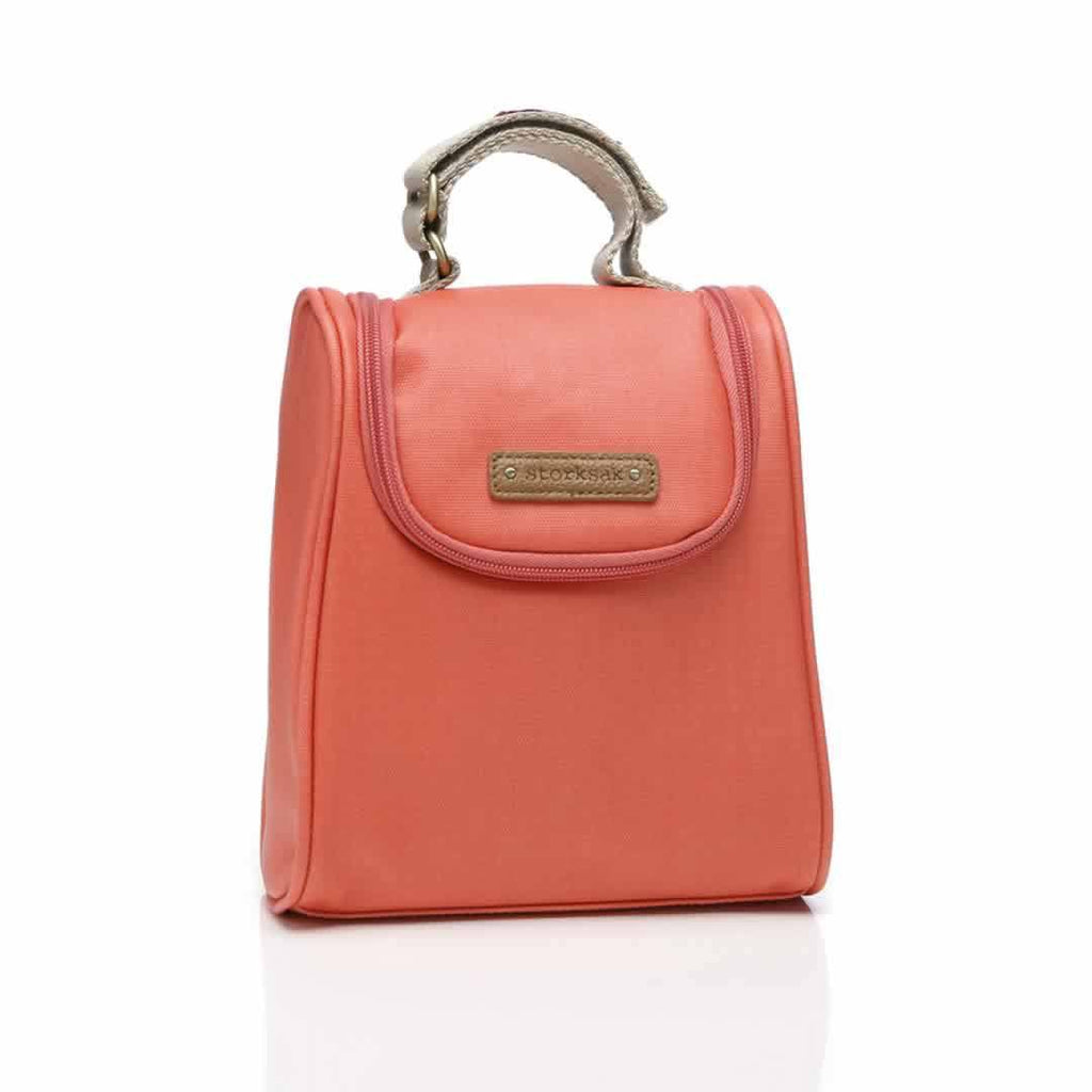 Storksak Bailey FAB Bag - Coral-Changing Bag Accessories- Natural Baby Shower