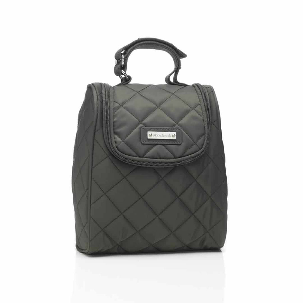 Storksak Bobby Fab Bag in Charcoal