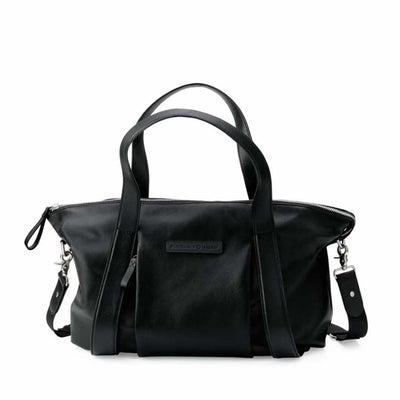 Storksak + Bugaboo Leather Changing Bag-Changing Bags- Natural Baby Shower