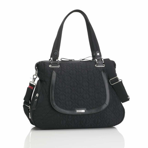 Storksak Changing Bag - Anna in Quilted Black