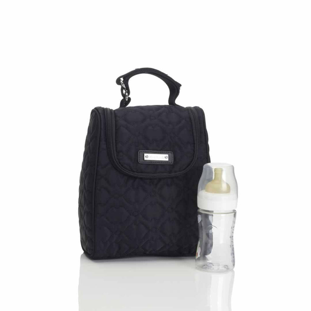 Storksak Changing Bag - Anna - Quilted Black FAB