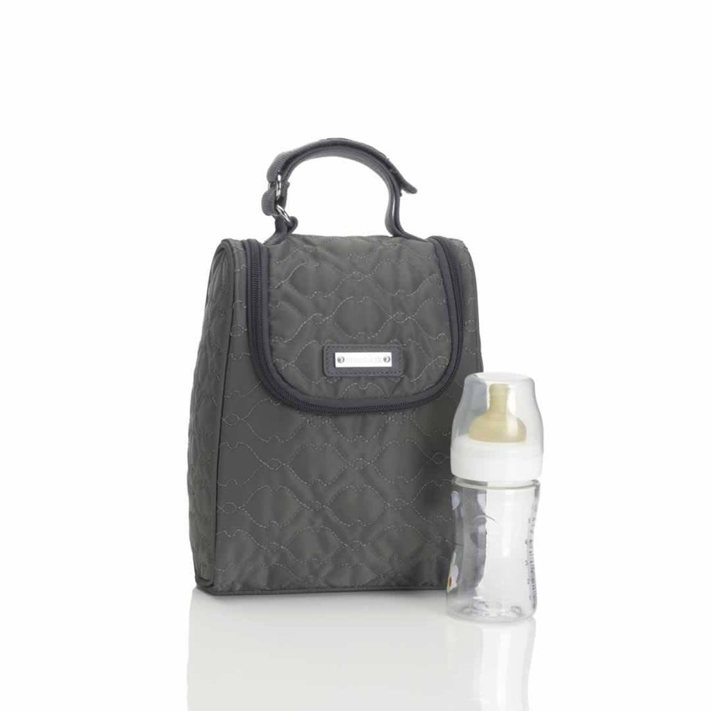 Storksak Changing Bag - Anna - Quilted Charcoal FAB