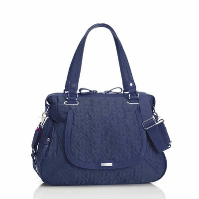 Storksak Changing Bag - Anna - Quilted Navy-Changing Bags- Natural Baby Shower