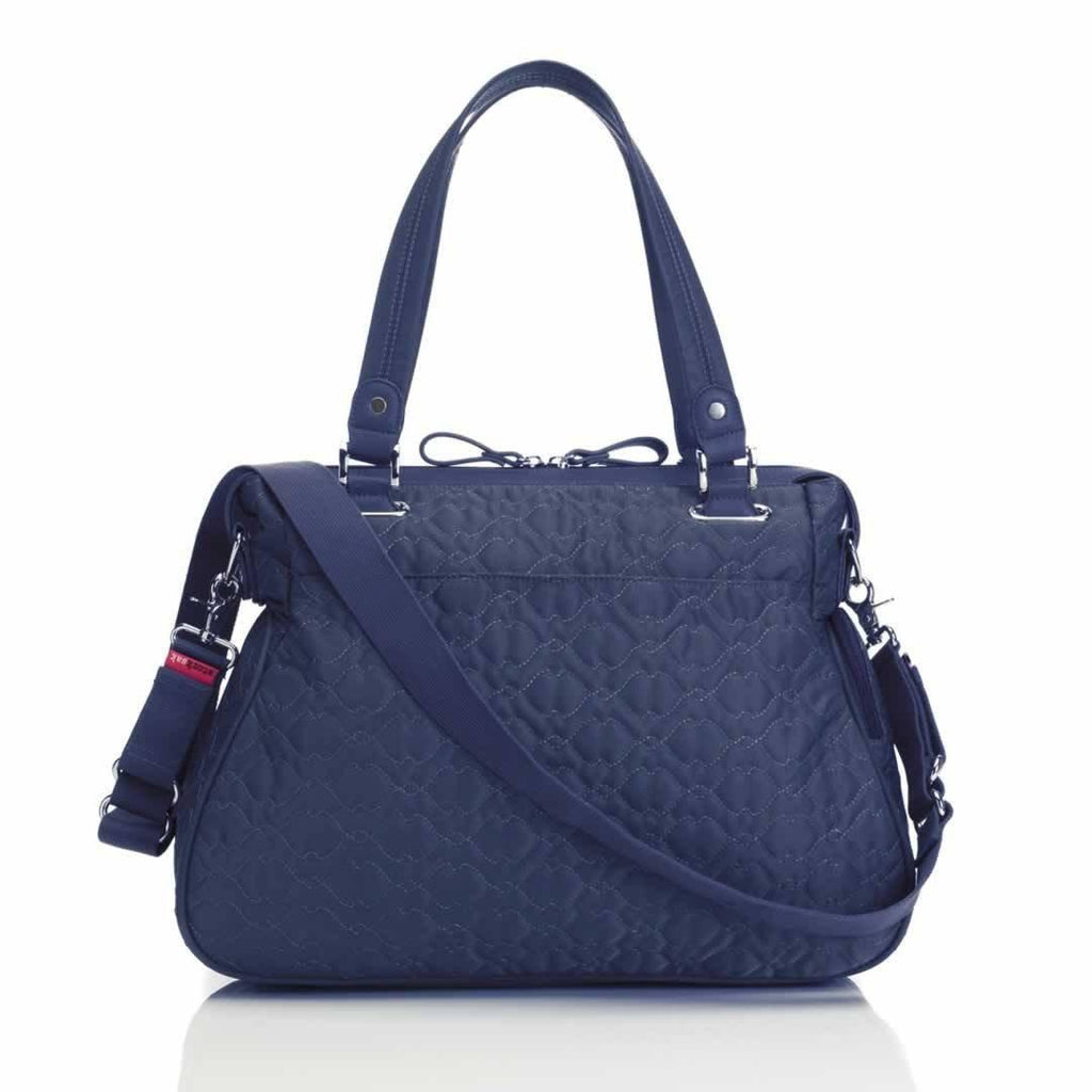 Storksak Changing Bag - Anna - Quilted Navy Back